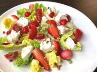 Salata de primavara, retete bonfood, salata cu capsune, salata inedita, idei salata, salata originala,