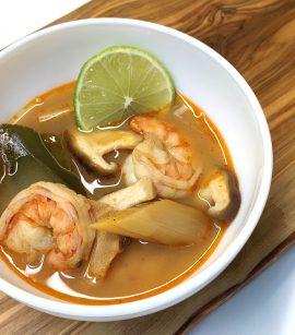Tom Yum, Tom Yam, supa asiatica, Supa Tom Yum cu creveti (Tom Yum Goong), reteta supa asiatica, reteta tom yum, reteta tom yam, supa cu creveti, cum fac supa cu creveti, retete bonfood, tom yum recipe, tom yum recette
